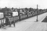 Militære jernbane transporter i 1930erne