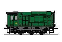 Rangerlokomotiv litra ML