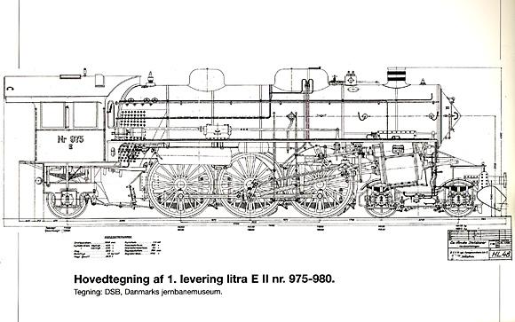 Hovedtegning af 1. levering