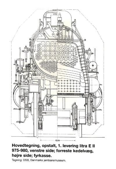 Hovedtegning førerhus af 1. levering