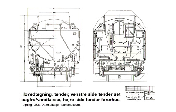Hovedtegning tender gennemskåret 1. levering