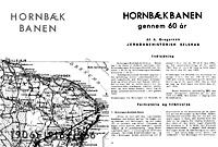 Hornbækbanen 1906 - 1916 - 1966