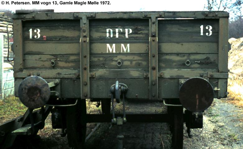 Magle Mølle Vogn 13 1972