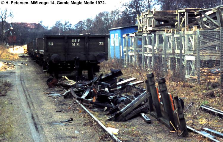 Magle Mølle Vogn 14 1972