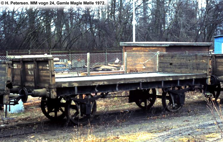 Magle Mølle Vogn 24 1972