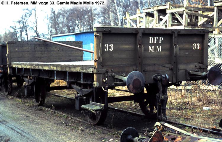 Magle Mølle Vogn 33 1972