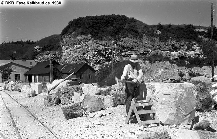 Faxe Kalkbrud ca. 1930