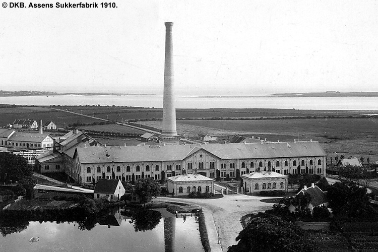 Assens Sukkerfabrik 1910