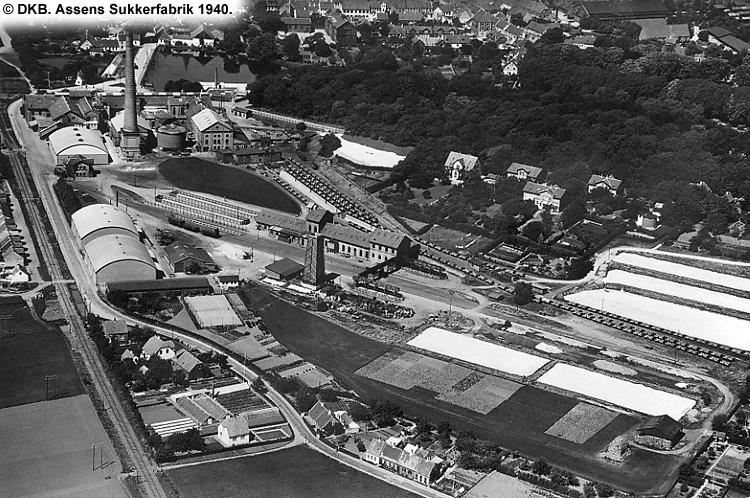 Assens Sukkerfabrik 1940