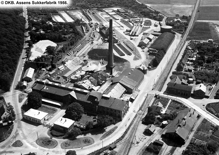 Assens Sukkerfabrik 1956