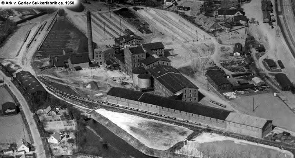 Gørlev Sukkerfabrik 1950