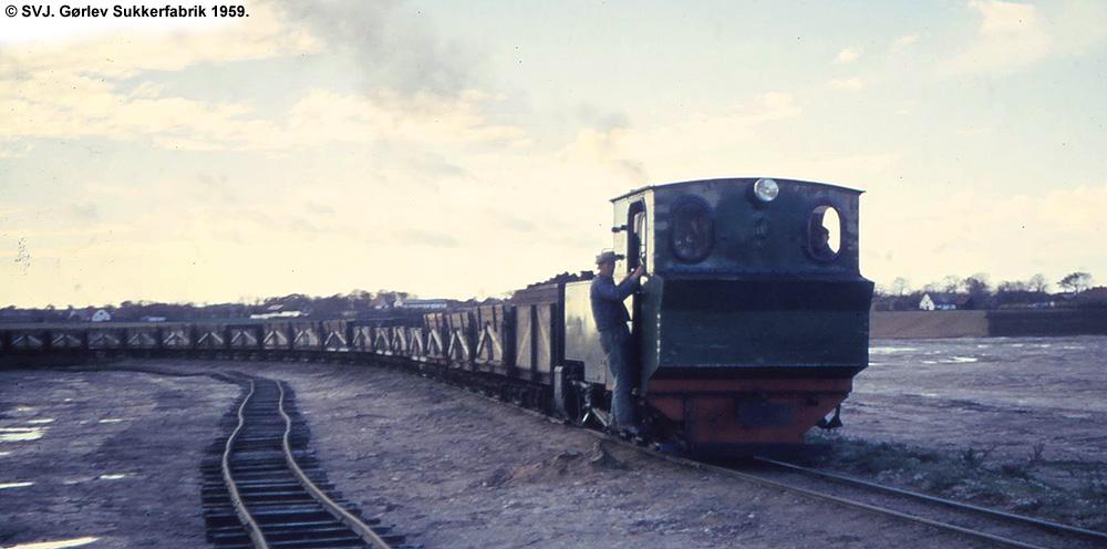 Gørlev Sukkerfabrik 1959