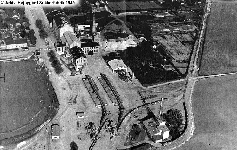 Højbygård Sukkerfabrik 1949