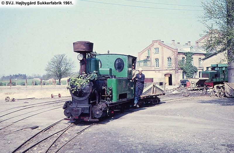 Højbygård Sukkerfabrik 1961