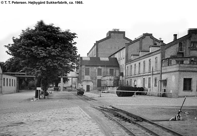 Højbygård Sukkerfabrik 1965