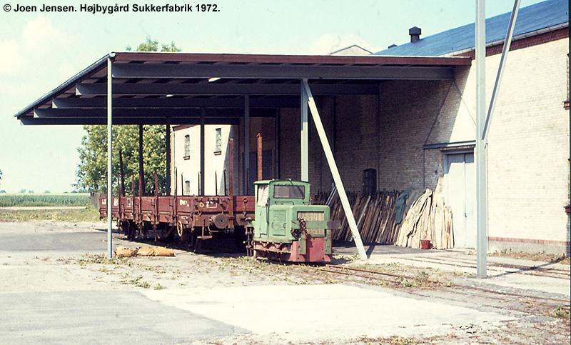 Højbygård Sukkerfabrik 1972