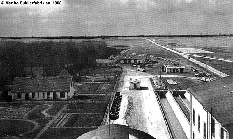Maribo Sukkerfabrik ca 1908