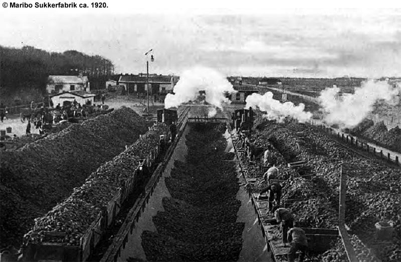 Maribo Sukkerfabrik ca 1920