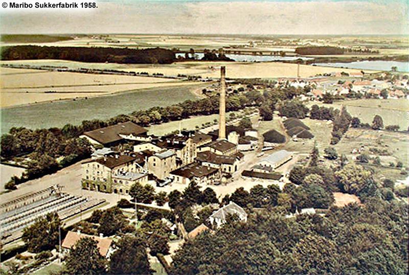 Maribo Sukkerfabrik 1958