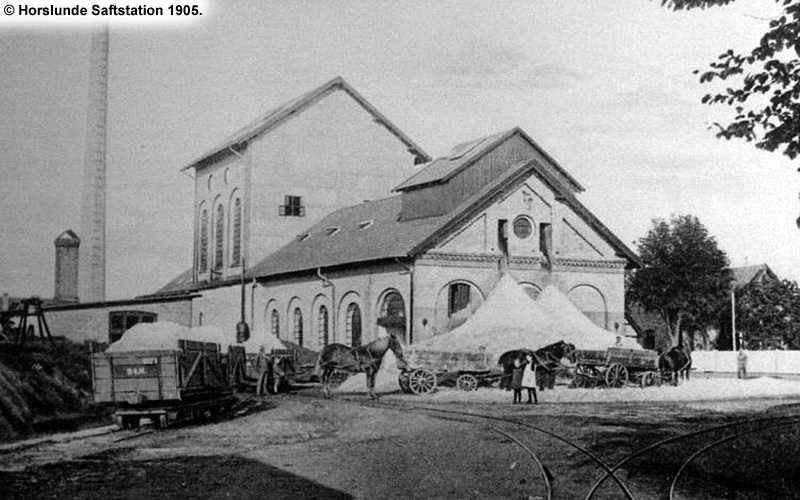 Horslunde Saftstation 1905