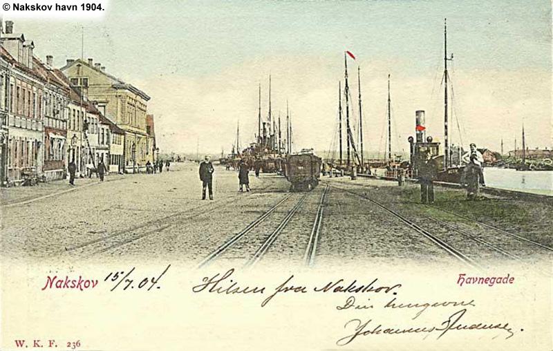 Nakskov Havn 1904