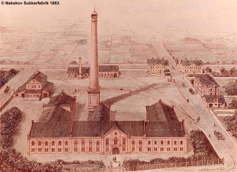 Nakskov Sukkerfabrik 1883