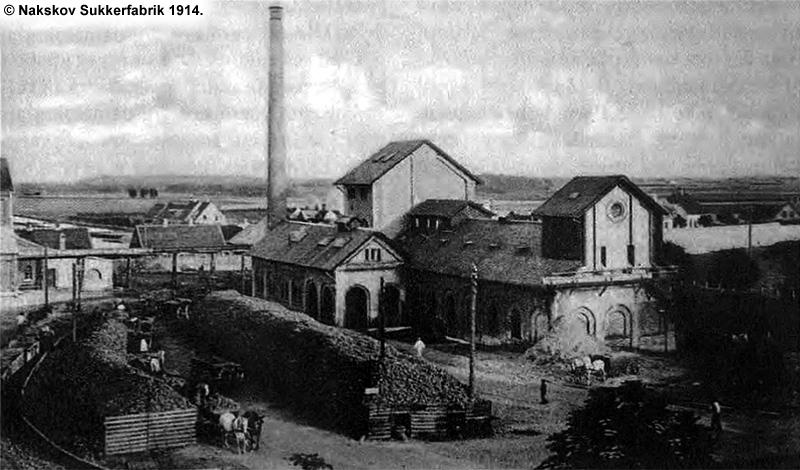 Nakskov Sukkerfabrik 1914