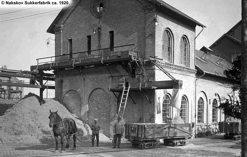 Nakskov Sukkerfabrik 1920