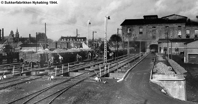 Sukkerfabrikken Nykøbing 1944