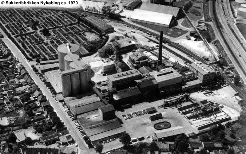 Sukkerfabrikken Nykøbing 1970