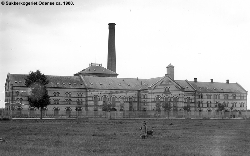 Sukkerkogeriet Odense 1900