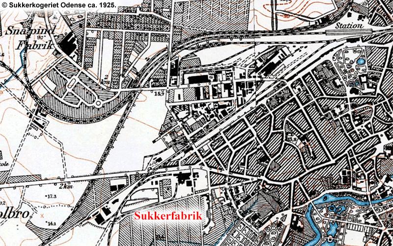 Sukkerkogeriet Odense 1925
