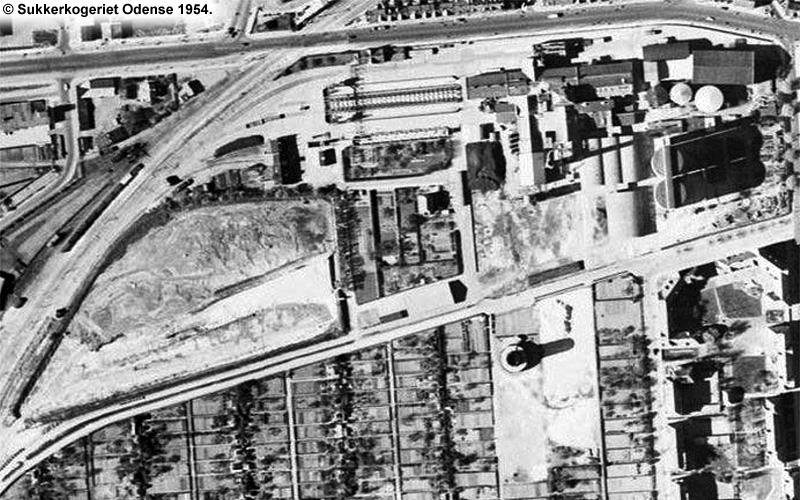 Sukkerkogeriet Odense 1954