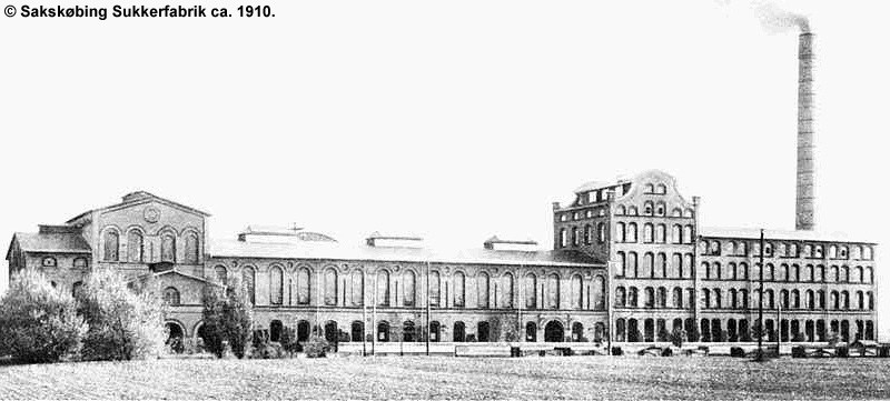 Sakskøbing Sukkerfabrik 1910