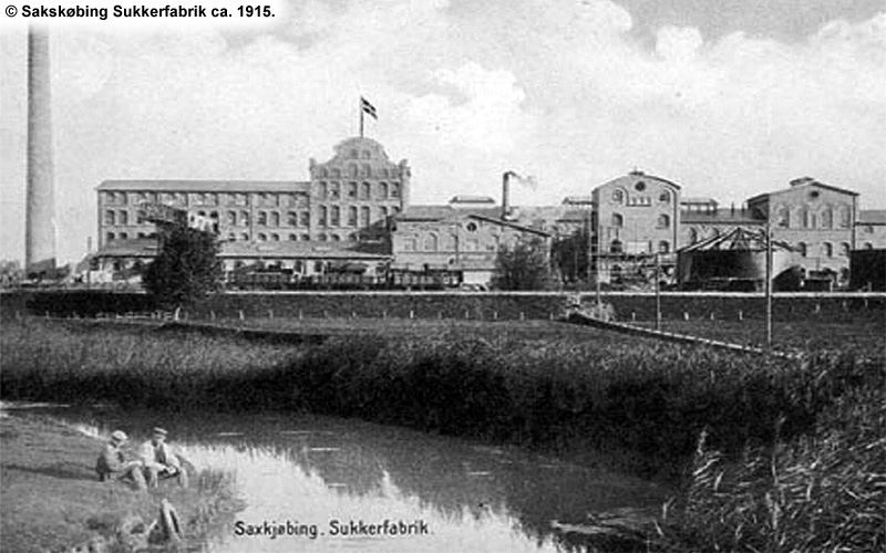 Sakskøbing Sukkerfabrik 1915