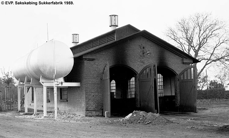 Sakskøbing Sukkerfabrik 1959