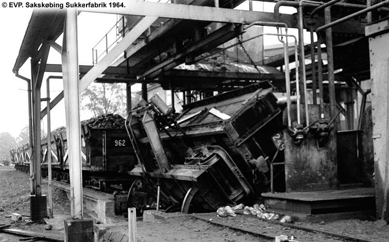 Sakskøbing Sukkerfabrik 1964