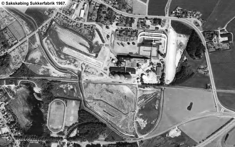 Sakskøbing Sukkerfabrik 1967