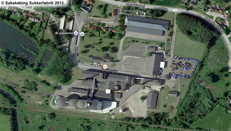 Sakskøbing Sukkerfabrik 2012