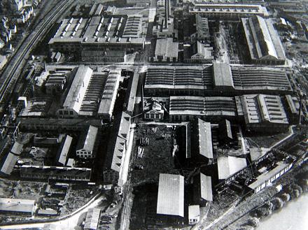 Fabrikken i Esslingen ca. 1920