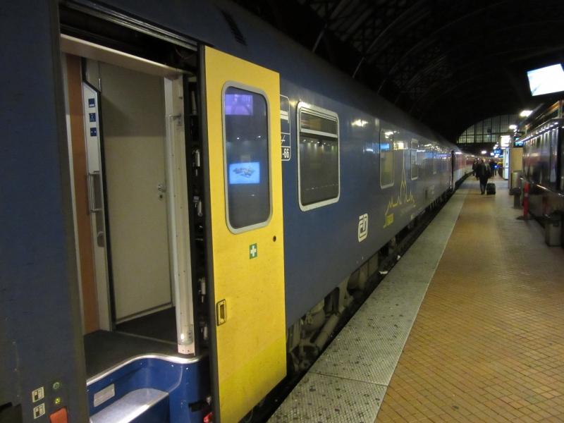 Sidste dag/ aften i Kbh - Tysk nattog - Jernbanen.dk forum