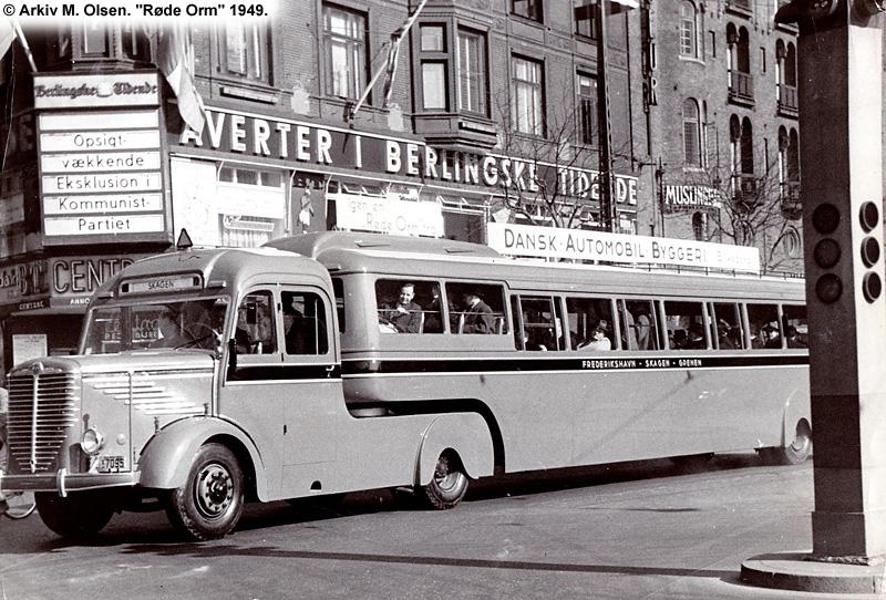 røde busser københavn