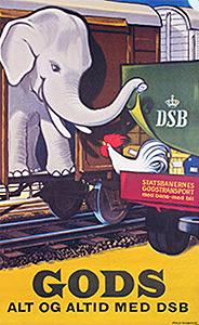 DSB plakat 1959