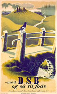 DSB plakat 1949