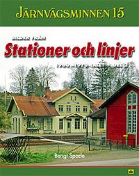 Järnvägsminnen 15. Del 2: bilder från stationer och linjer 1960-1970